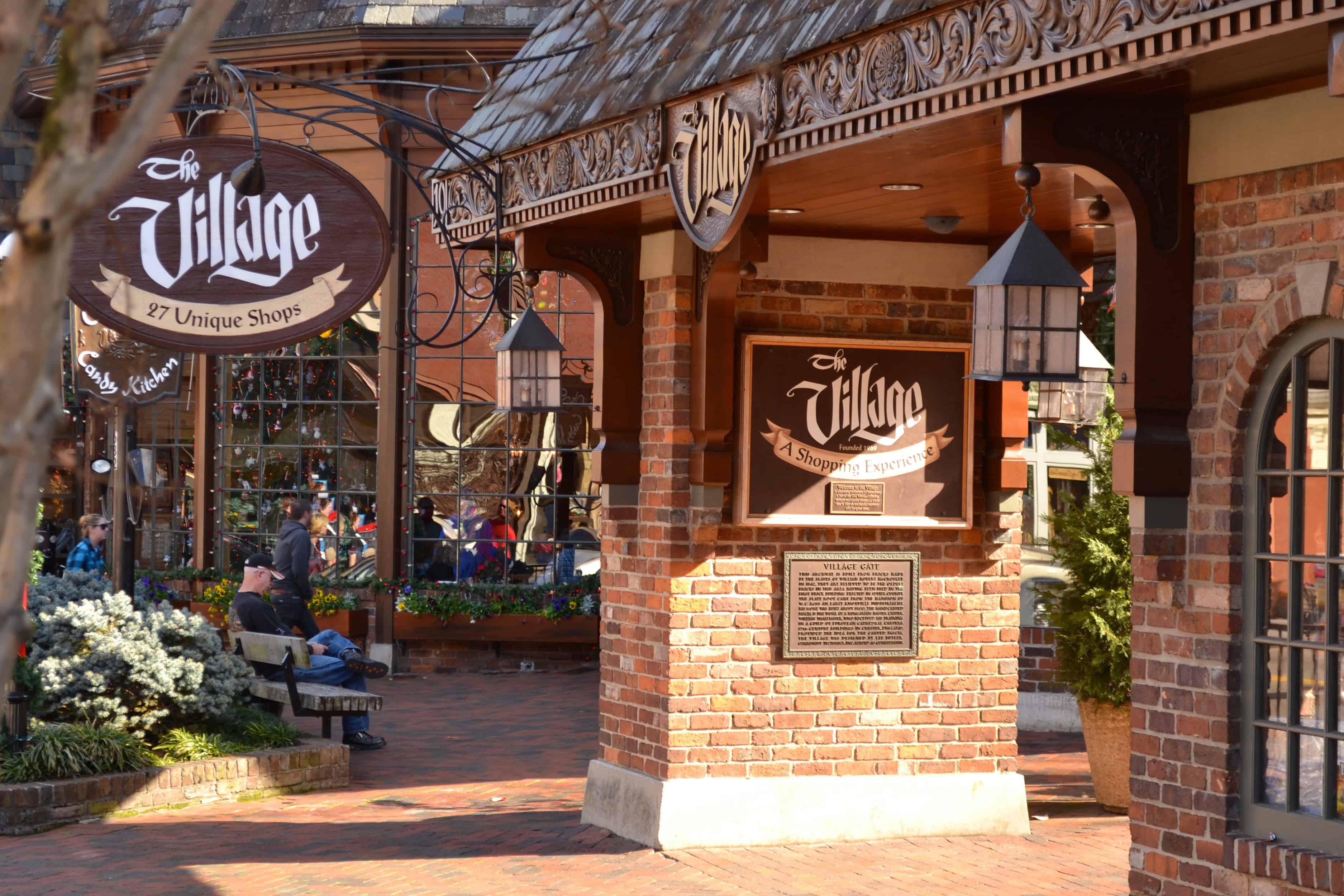 the village shops in gatlinburg